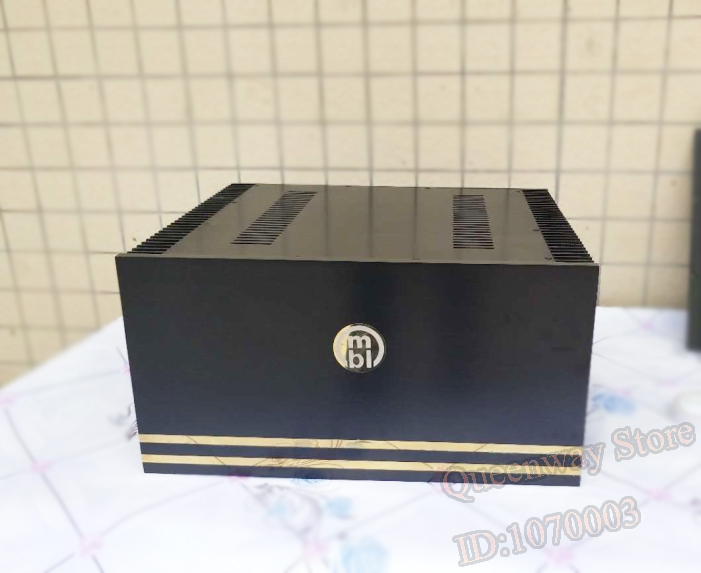 цены A-146 CNC All Aluminum Cabinet Chassis Case Box for DIY Audio Power Amplifier 480*250*415mm