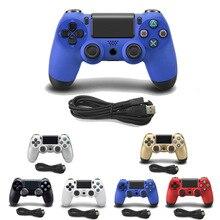 6 цветов Проводной контроллер для SONY PS4 геймпад для Play Station 4 джойстик проводной консоль для PS3 для Dualshock Controle
