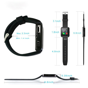 Image 4 - Nuevo reloj inteligente deportivo Bluetooth U8 para IPhone IOS Android reloj de uso para teléfono inteligente dispositivo portátil Smartwach GT08 DZ09