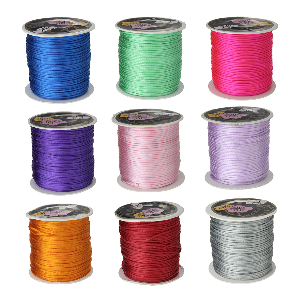 1mm Round Diy Nylon Cord Elastic Cords Roll String Thread For
