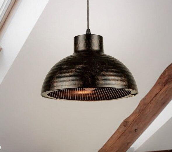 Фотография European brief lid iron art Pendant Lights American industry style creative E27 LED lamp for Cafe&Bar&corridor&Porch CYDD042