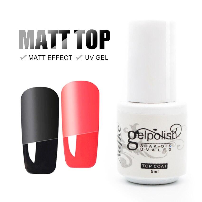 Aafke 5ml Matt Top Coat Matt Nail Polish Lacquer Matte Gel ...