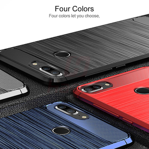 Image 5 - For Huawei Honor 9 Lite Case Honor9 Lite Carbon Fiber Bumper TPU Silicone Protective Back Cover for Huawei Honor9 Lite