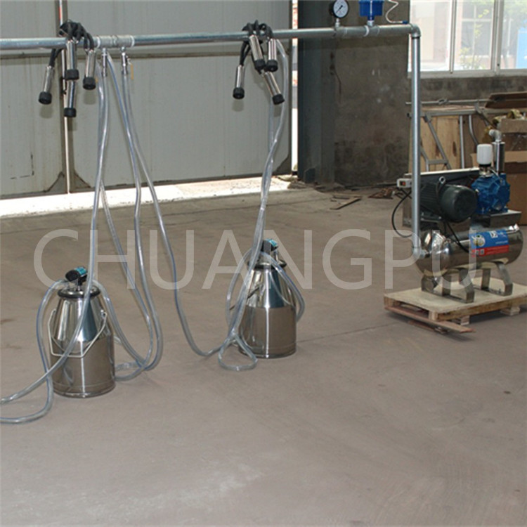 Stainless Steel Pail Bucket Milking Machine,Parlor,System for Milking Cow,Goat