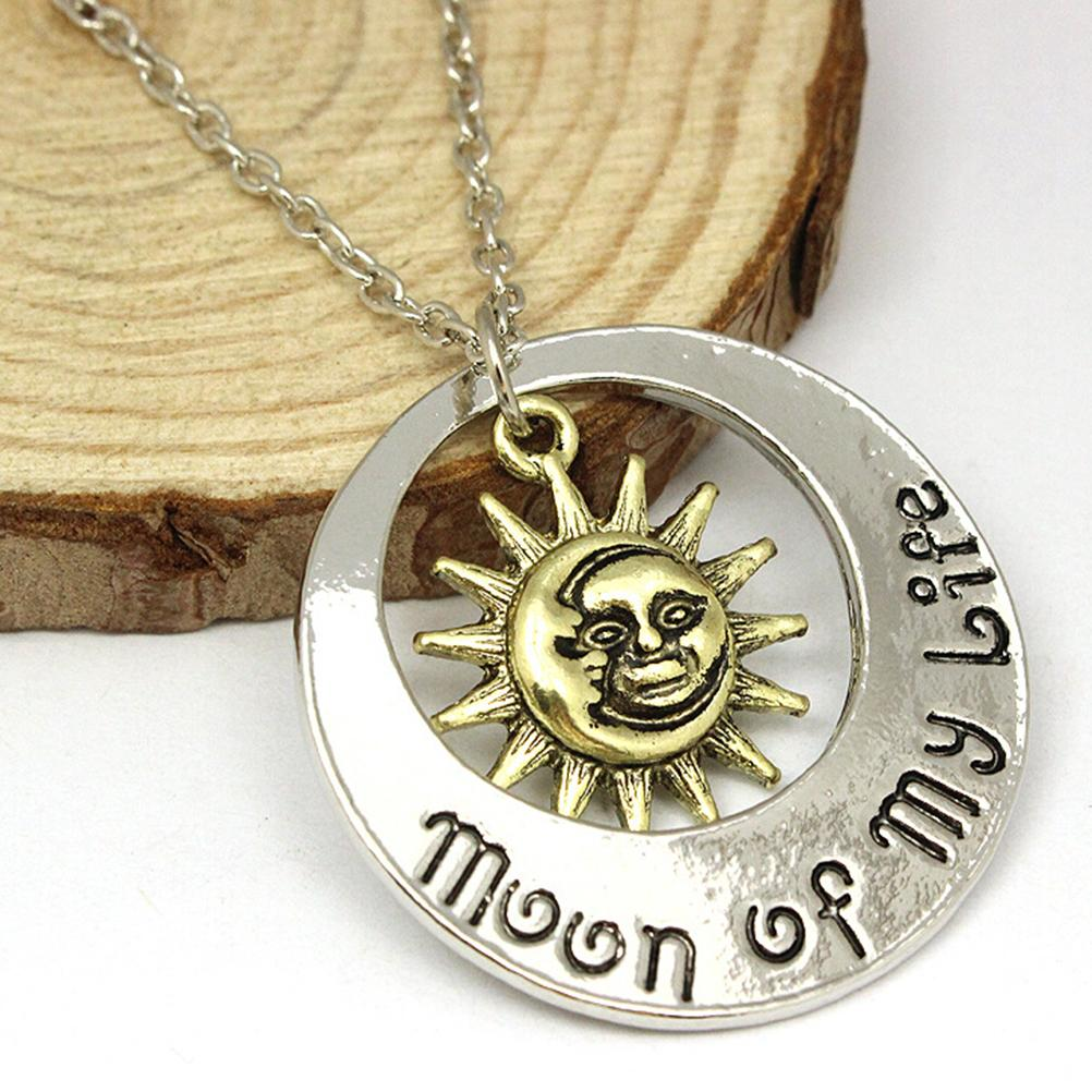 My Sun Stars Drogo Danearys Game of Thrones Necklace Set Boho Moon Of My Life