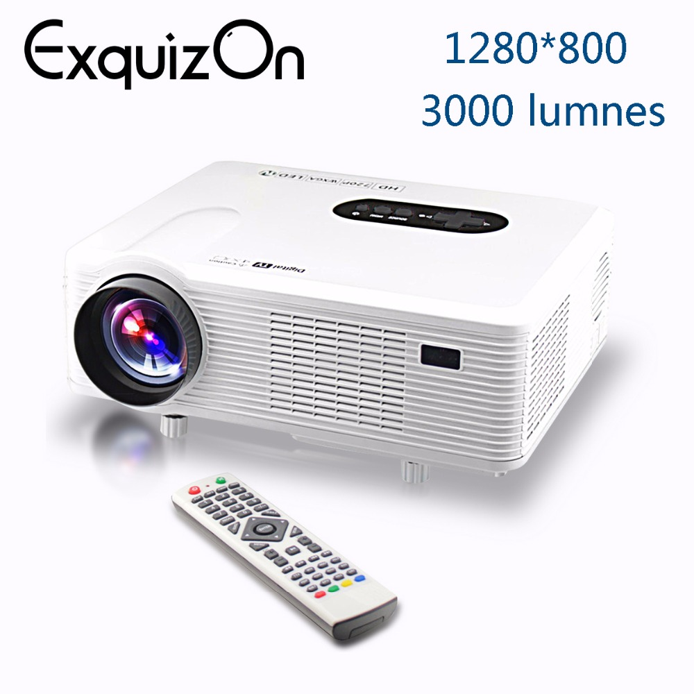 Cl720 3000 Lumens Hd Home Theater Multimedia Lcd Projector: Aliexpress.com : Buy CL720D Updated CL720 Projector