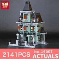 Lepin 16007 2141Pcs Monster Fighter The Haunted House Model Set Building Blocks Model Kits LegoINGlys 10228