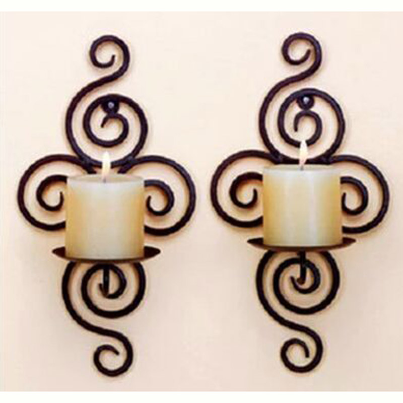 Metal Wall Sconce Candle Holder online get cheap wall hanging candle holder -aliexpress