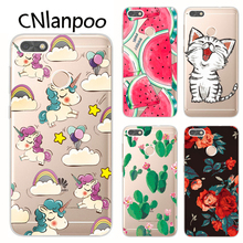 Фотография CNlanpoo Case For Huawei P9 Lite Mini 2017 Case Soft Silicone TPU Back Protective Case Cover For Huawei P9lite mini Fundas