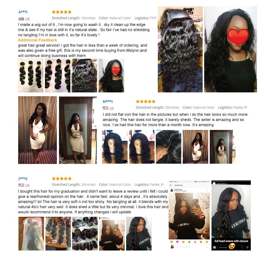 Lichaamsbundels Bundels Peruaanse haar Bundels Menselijk haar Bundels - Mensenhaar (voor zwart) - Foto 6