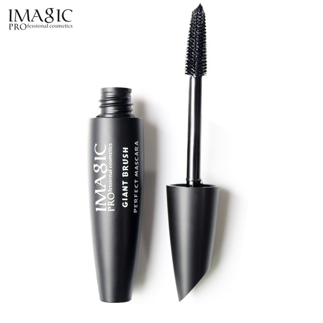 IMAGIC New Curling Waterproof Mascara Black Concentrated Eyelash Cosmetics Extended Curling Eyelashes Thick and Quick Dry 5