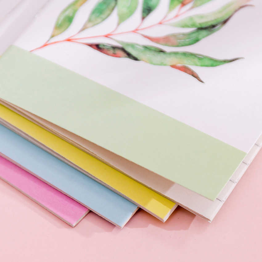 1 Buah/Lot Indah Korea Kecil Segar Seri Lukisan Tanaman Nanas Notebook Perlengkapan Sekolah Kantor Alat Tulis