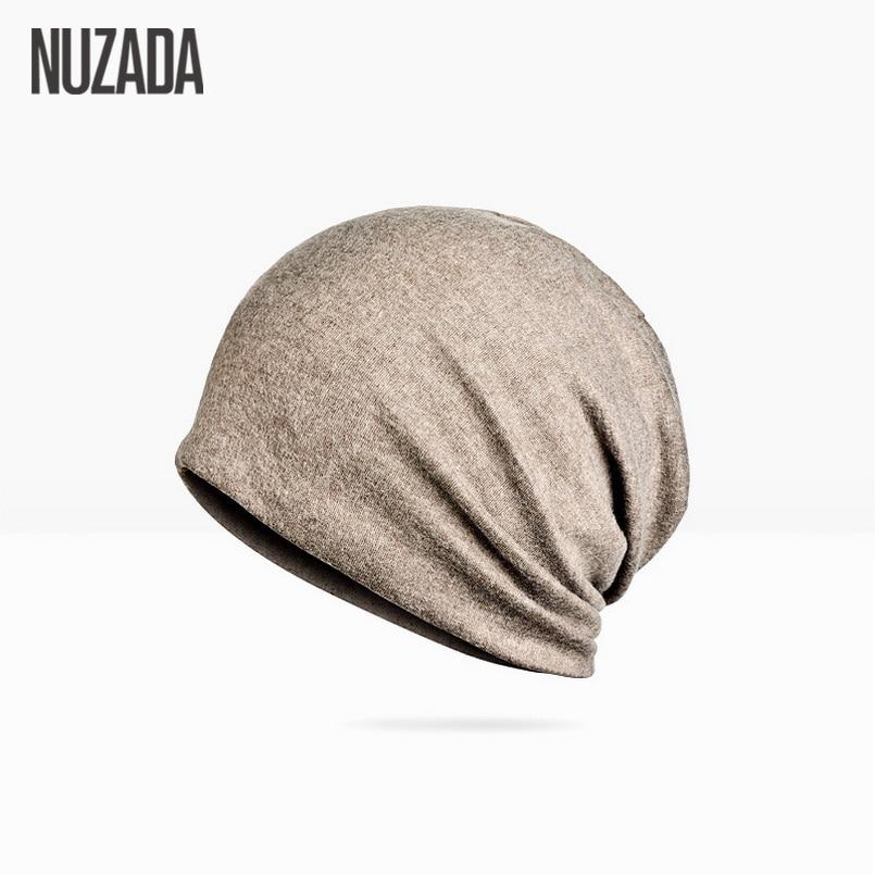 Marke NUZADA Einfarbig Unisex Männer Frauen Skullies Beanies Hedging - Bekleidungszubehör - Foto 4