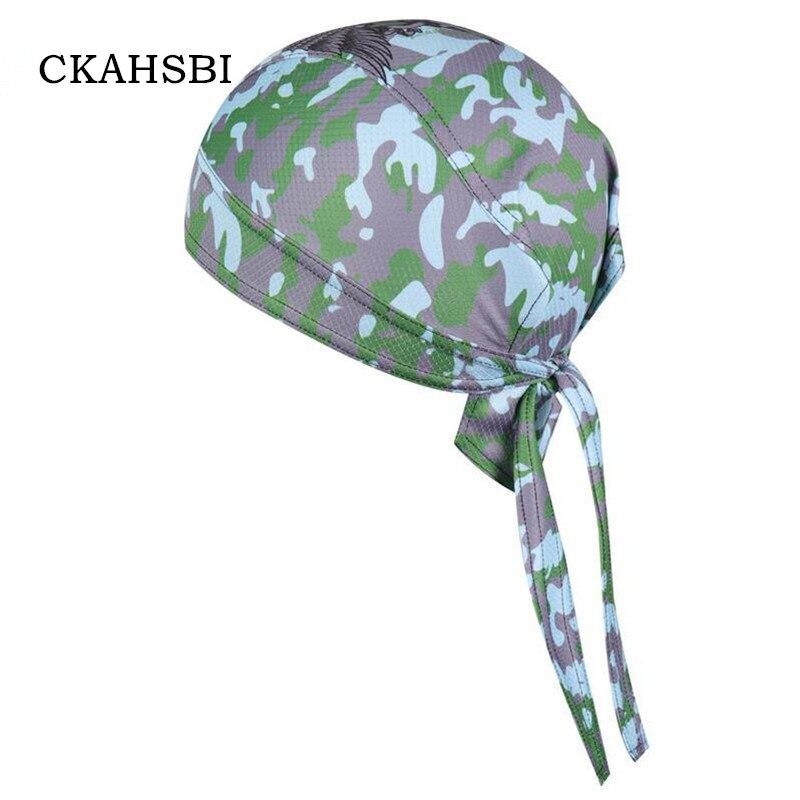 CKAHSBI Summer Bike Headscarf Headband Multi Cap Bandana Men Women MTB Cycling Caps Pirate Quick-dry Ciclismo Bicycle Male Hats