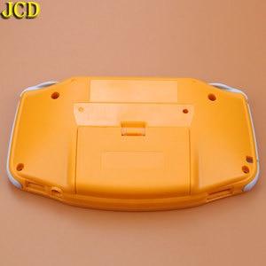 Image 5 - JCD 1 pcs ฝาครอบพลาสติกสำหรับคอนโซล GBA Shell Case + เลนส์หน้าจอ Protector + Stick ป้าย gameboy Advance