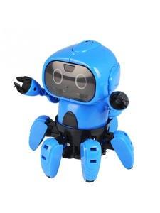 Robot DIY Assembled Educational-Toys Gesture-Sensor Electric-Follow-Robot Intelligent