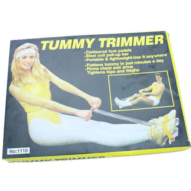 Cnherbtummy Trimmer Ms Fitness Equipment Thin Waist Slimming Leg Fitness Foot Chest Expander 3
