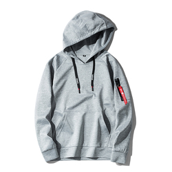 2018 8 Color Men Hoodie Sweatshirt Solid Color Hoody Men Long Sleeves Pocket Hip Hop Autumn And Winter Mens Sweatshirt 5