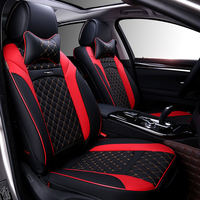 Sports Car Seat Cover Universal Liner 6D High Leather Car Modeling For The BMW Audi Toyota