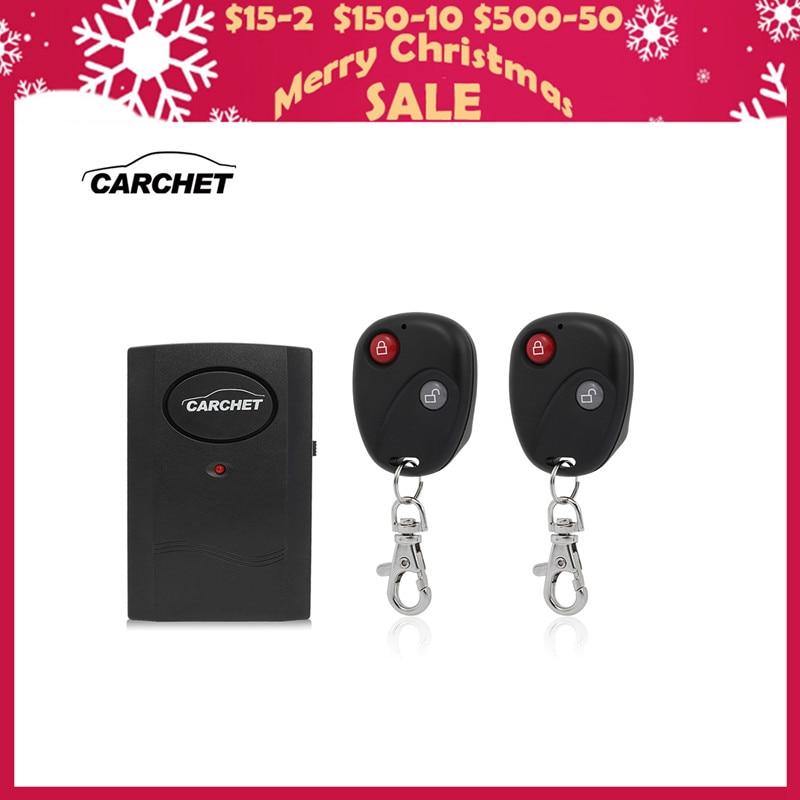 CARCHET Универсален мотоциклет будилник безжична система сензор аларма детектор заключване 2 дистанционно управление кражба защита 120db