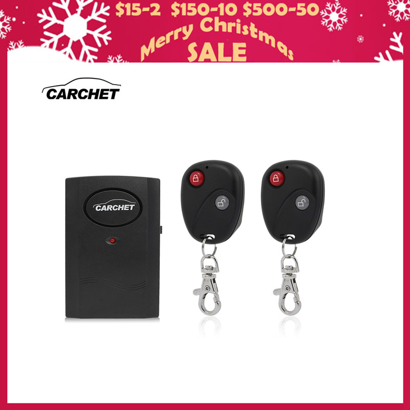 CARCHET Universele Motorfiets Fiets Wekker Draadloos Systeem Sensor Alarm Detector Slot 2 Afstandsbediening Diefstalbeveiliging 120db