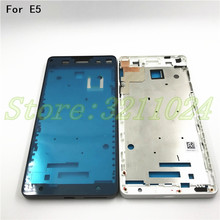 Original Front Bezel Housing LCD Frame For Sony Xperia E5 F3311 F3313 Front Bezel with Side Button Key все цены