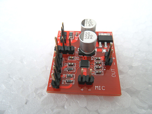 Electret Microphone Amplifier - MAX9814 with Auto Gain Control