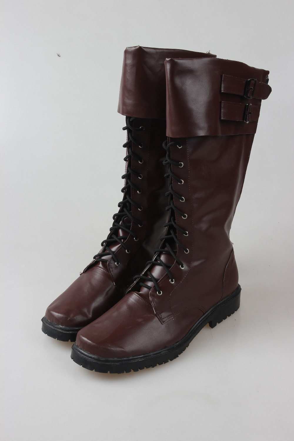 Steve Rogers Cosplay Boots Captain America The First Avenger Shoes Superhero Brown Boots Adult Men Halloween Accessories Props new marvel the avengers age of ultron captain america cosplay costume steve rogers outfits adult superhero costume