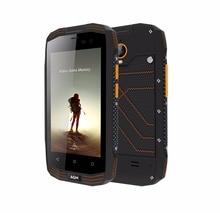 "AGM A2 RIO 4,0 ""IP68 Wasserdicht Stoßfest Robuste Smartphone Android 5.1 Quad Core 2 GB + 16 GB 8.0MP 2600 mAh Unterstützung NFC GPS OTG"