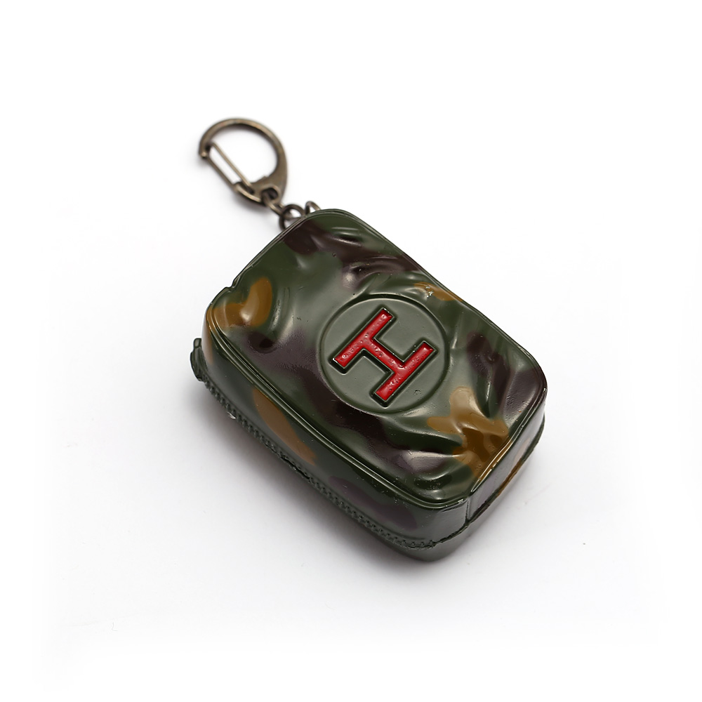 Game Accessory Keychain Jedi Survival Bag Keyring PUBG First Aid Kit Treatment Box Openable Alloy Keychain