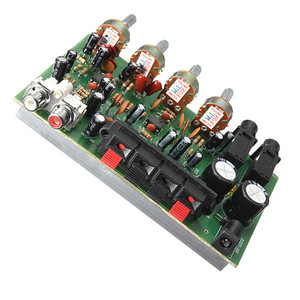 Image 2 - 9 Cm X 13 Cm Elektronische Printplaat 12V 60W Hi Fi Stereo Digitale Audio Eindversterker Volume tone Control Board Kit