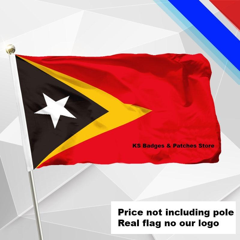 #1 288x192 #2 240x160 #3 192x128 #5 96x64 #6 60x40 #7 30x20 Ks-0050-c 3x5ft SchöN East Timor Flagge Fliegen Flagge #4 144x96