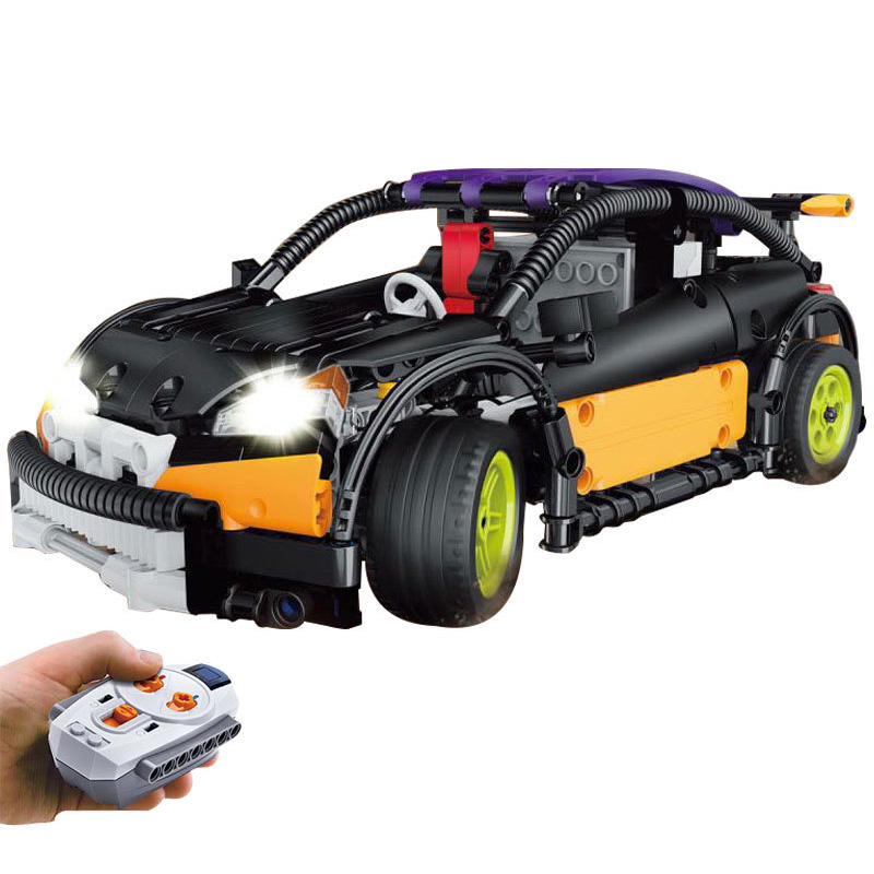 New LEPIN Technic Motor Electric Drive Car Model Building Blocks Set DIY Bricks Educational Toys For Children Boy Gift new idea gift solar energy blocks toy transfer boat car train electric toys for children education diy game tool bricks outdoor