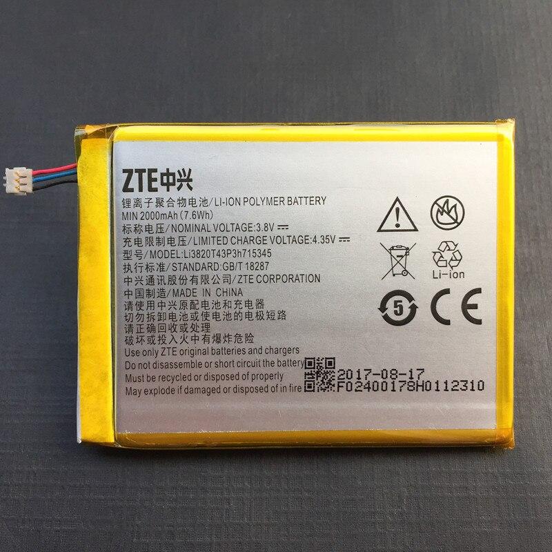 3,8 v 2000 mah LI3820T43P3h715345/LI3823T43P3H715345 Für ZTE Grand S Flex/Für ZTE MF910 MF910S MF910L Batterie