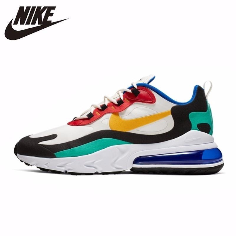 Nike Air Max 270 réagir nouveauté hommes course chaussures coussin d'air Sports de plein Air baskets # AO4971