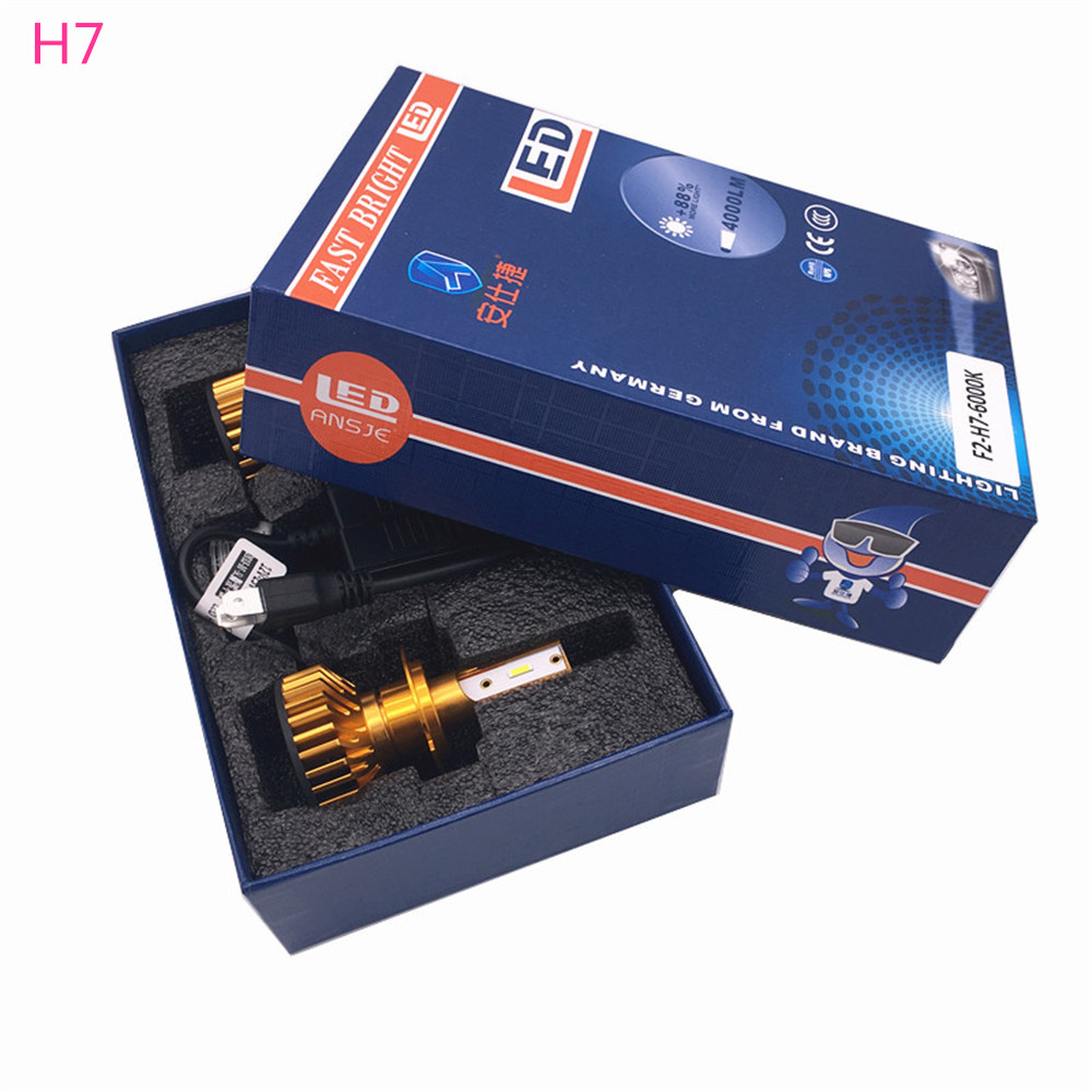 Car Headlight Bulbs(led) Hard-Working 2pcs Car Headlights Led Light Bulbs 9005/hb3 9006/hb4 H1 H3 H4 H7 H11 Headlamp 6000k For Volkswagen Passat 2005 2006 2007-2009 Automobiles & Motorcycles