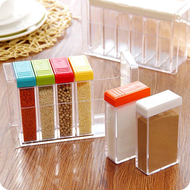 Transparent Spice Jar