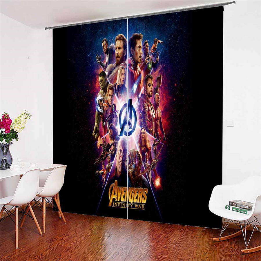 3D Window Curtains The Avengers Print for Living Room Bedding Room Home Decor Tapestry Wall Carpet Drapes Cotinas #WZ-293D Window Curtains The Avengers Print for Living Room Bedding Room Home Decor Tapestry Wall Carpet Drapes Cotinas #WZ-29