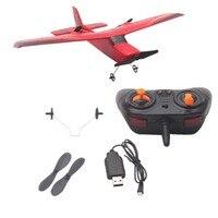 Z50 2,4 г 2CH 350 мм Micro размах крыльев дистанционного Управление RC планер самолета крыло ЕНП Дрон со встроенным гироскопом для детей