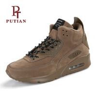 PU TIAN Lovers High Top Sneakers Comfort Breath Running Shoes 2018 New Arrival Brand Men S