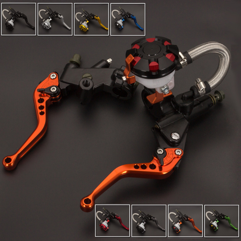 FX CNC 7/8 Motorcycle Brake Clutch Lever Master Cylinder Reservoir Hydraulic For Kawasaki ZZR250 1990 - 1994 1991 1992 1993 motorcycle hydraulic brake clutch master cylinder reservoir levers 125cc 600cc for kawasaki zrx1100 zrx1200 zg1000 1992 2006