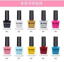 Vernis à ongles Gel d'estampage, 20 couleurs (vernis à ongles d'estampage), pour plaques d'estampage, 1 pièce