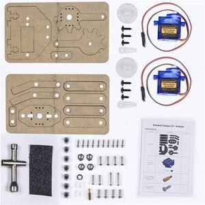 Image 5 - SunFounder 標準グリッパーキット足ロボットアーム Rollarm DIY ロボット Arduino の Uno メガ 2560 ナノ
