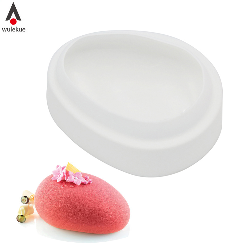 Wulekue 600ML Blackout Chocolate Cake Mold Material Food Grade Silicone For Handmade Soap Bread Specialty & Novelty Cake Pans