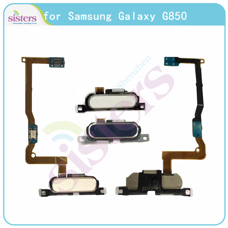 Fingerprint Flex Cable For Samsung Galaxy Alpha G850 G850F Home Button Flex Cable For Samsung Alpha G850 G850F Original Working
