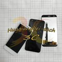 5 2 New For ZTE Blade A512 Z10 Full LCD DIsplay Touch Screen Digitizer Assembly Black