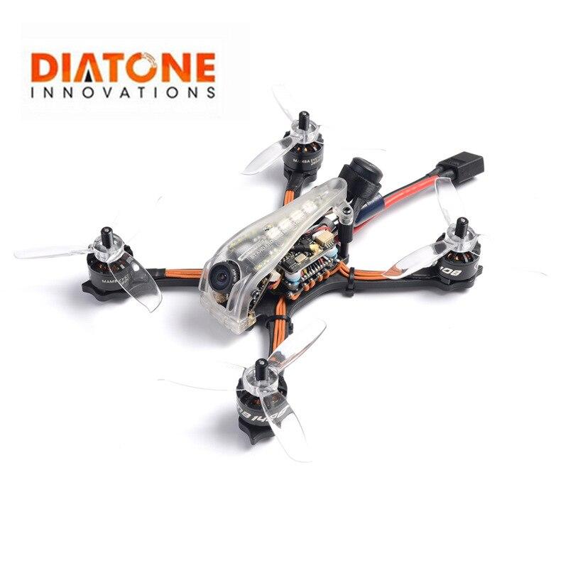 Diatone GT R369 3 pouces 6S 143mm FOXEER prédateur V4 caméra course folle édition limitée PNP XT60 143mm FPV Racing RC Drone modèle