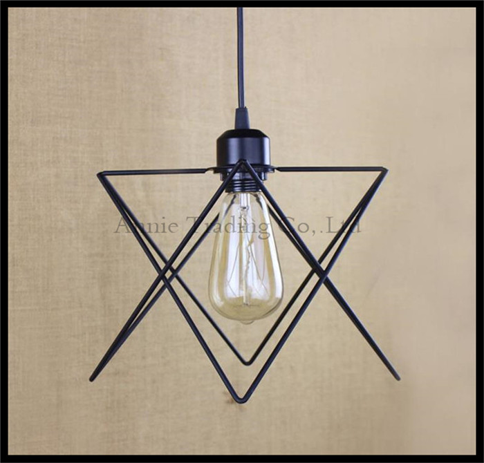 vintage industrial lamp lampara retro pendant light lampshade loft lights living dining room Countryside E27 edison lamps a1 master bedroom living room lamp crystal pendant lights dining room lamp european style dual use fashion pendant lamps