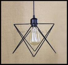 Старинные промышленные лампы lampara ретро подвесной светильник абажур лофт огни гостиная столовая Сельская E27 эдисон лампы