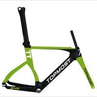 הפופולרי ביותר מסגרת משפט זמן tt aero מסגרת אופני כביש פחמן אופני מסגרות עם מדבקות FM-R845